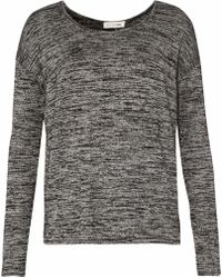 Rag & Bone - Mélange Knitted Sweater - Lyst