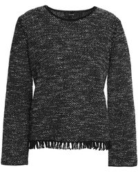 Theory - Wool And Cotton-blend Jumper - Lyst