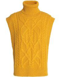 Isabel Marant - Grant Cable-knit Alpaca-blend Jumper - Lyst