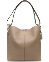 Michael Kors - Rogers Pebbled-leather Tote - Lyst