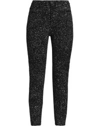 Proenza Schouler - Printed High-rise Skinny Jeans - Lyst