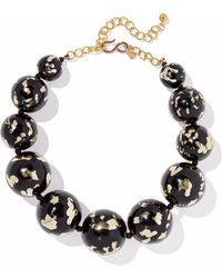 Kenneth Jay Lane - Beaded Gold-tone Necklace - Lyst
