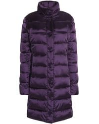 Love Moschino - Quilted Shell Down Coat - Lyst