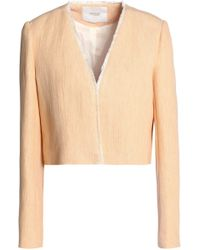 Maje - Frayed Woven Jacket - Lyst
