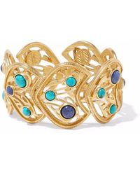 Ben-Amun - Gold-tone Cabochon Bracelet - Lyst