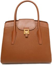 Michael Kors - Smooth And Textured-leather Tote - Lyst