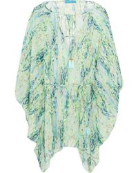 Matthew Williamson | Draped Printed Coverup | Lyst
