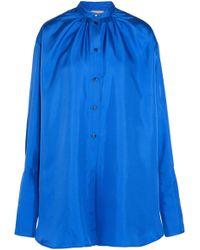 ROKSANDA - Kiyoko Oversized Silk-satin Blouse - Lyst