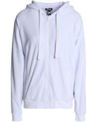 Just Cavalli - Crystal-embellished Cotton-blend Chenille Hooded Sweatshirt - Lyst
