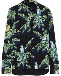 Stella McCartney - Tropical Print Shirt - Lyst
