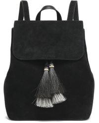 Loeffler Randall - Tasseled Suede Backpack - Lyst