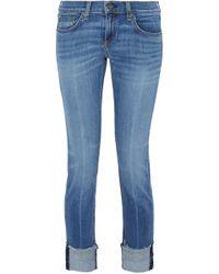 Rag & Bone/jean Woman Marilyn Distressed Boyfriend Jeans Light Denim Size 25 Rag & Bone Outlet For Nice Cheap Sale Get Authentic Free Shipping Best Wholesale For Sale Cheap Online Outlet How Much o82eNcp1zS