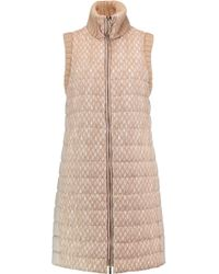 Missoni - Crochet-knit And Quilted Shell Gilet - Lyst