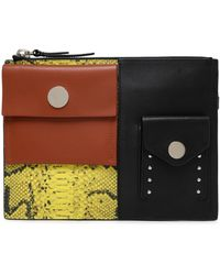 3.1 Phillip Lim - Panelled Leather Pouch - Lyst