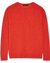 Cedric Charlier - Ribbed-knit Sweater - Lyst