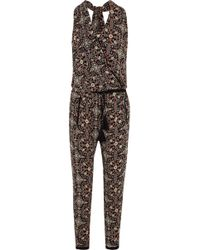 Talitha - Raj Printed Silk-georgette Jumpsuit - Lyst