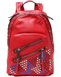 Marc Jacobs - Embellished Textured-leather Backpack - Lyst