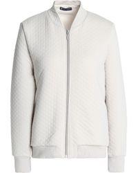 Petit Bateau - Quilted Cotton-blend Jersey Jacket - Lyst