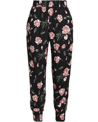 Mother Of Pearl - Floral-print Twill Tapered Trousers - Lyst