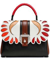 Paula Cademartori - Petite Faye Panelled Leather Shoulder Bag - Lyst