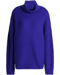 Duffy - Ribbed Wool And Cashmere-blend Turtleneck Sweater - Lyst