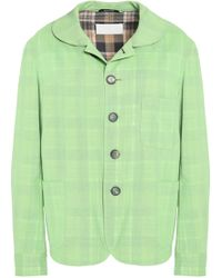 Maison Margiela - Checked Virgin Wool Blazer - Lyst