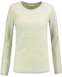 Duffy - Ribbed Cashmere-blend Sweater Light Green - Lyst