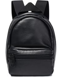 Alexander Wang - Woman Leather Backpack Black - Lyst