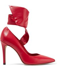 IRO | Venira Leather Court Shoes | Lyst