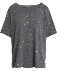 Splendid - City Lights Painted Jersey T-shirt - Lyst