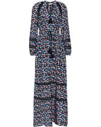 2402599c546 Tory Burch - Woman Printed Cotton And Silk-blend Maxi Dress Multicolour -  Lyst