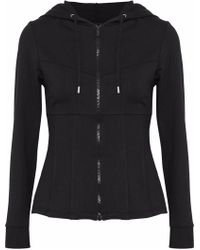 Cushnie et Ochs - Stretch-jersey Hooded Jacket - Lyst