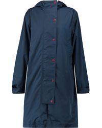Ganni - Shell Hooded Jacket - Lyst