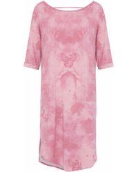 DKNY - Tie-dye Modal-blend Jersey Nightdress - Lyst