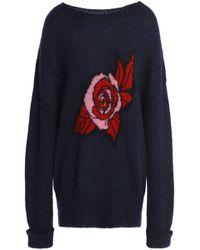 Markus Lupfer - Erin Intarsia Mohair-blend Sweater - Lyst