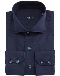 Marol - Navy Safari Shirt - Lyst