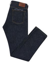 The Workers Club - Dark Blue Japanese Selvedge Jeans - Lyst