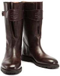 Ludwig Reiter - Brown Traktorstiefel Pull-up Leather Boots - Lyst