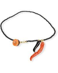 Rubinacci - Black Onyx And Gold Bracelet - Lyst