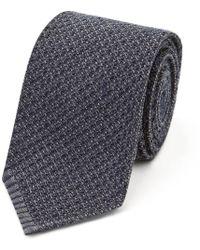 Salvatore Piccolo - Dark Grey Wool Tie - Lyst