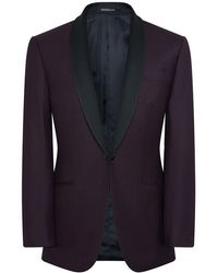 Richard James - Blackcurrant Super 150s Wool Hyde Dinner Suit - Lyst