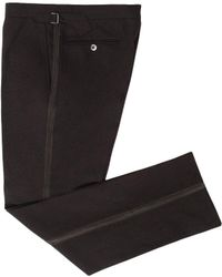Chester Barrie - Chocolate Brown Dinner Trousers - Lyst