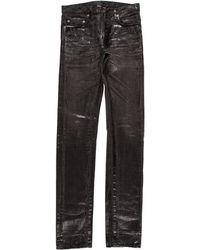 Dior Homme - 19cm Clawmark Luster Waxed Skinny Jeans - Lyst