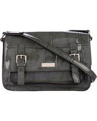 Kate Spade - Knightsbridge Scout Patent Leather Bag Grey - Lyst