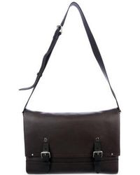 b70d20bd4e Lyst - Louis Vuitton Utah Omaha Messenger Bag Brown in Gray for Men