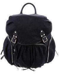 MZ Wallace - Marlena Nylon Backpack Navy - Lyst