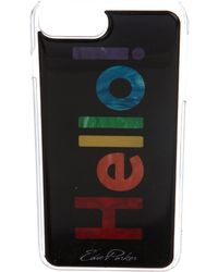 Edie Parker - Hello Iphone 6/7 Plus Case W/ Tags - Lyst
