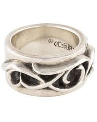 c791a42921bf Lyst - Chrome Hearts Openwork Ring Silver in Metallic for Men
