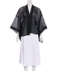Anna Sui - Lace Open-front Jacket - Lyst