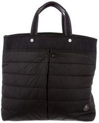 Moncler - Quilted Nylon Tote Bag - Lyst
